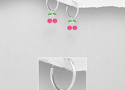 """Boucles d'oreilles """"Cherry"""""""