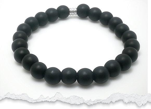 "Bracelet ""Black for man or woman"""