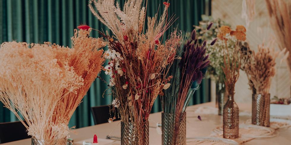 Floral Hoop - Herbstkränze binden
