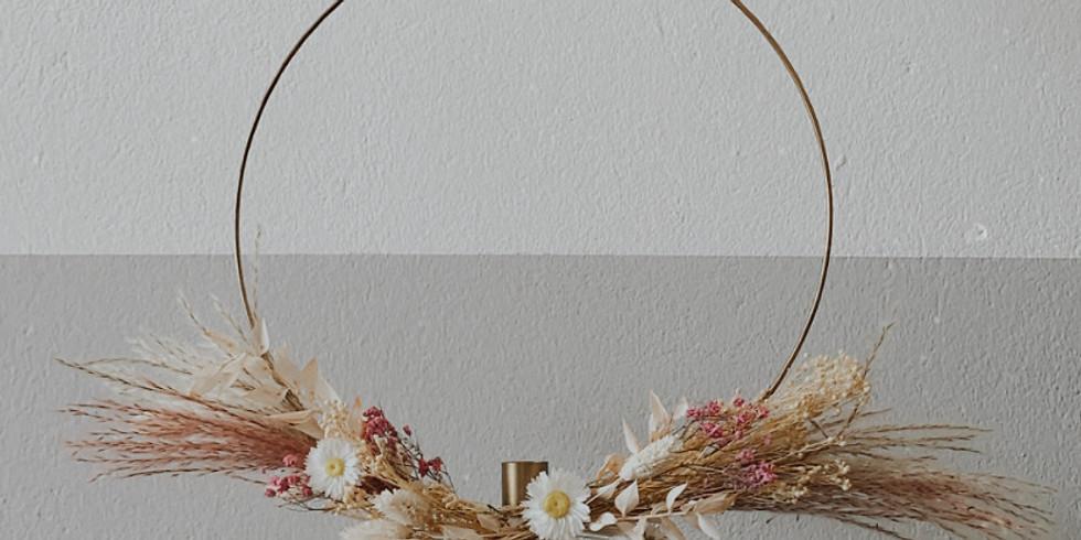 Flower Hoop Workshop