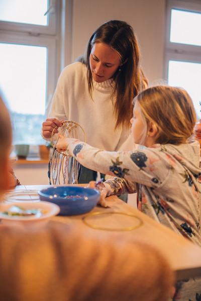 Makramee Workshop für Kinder