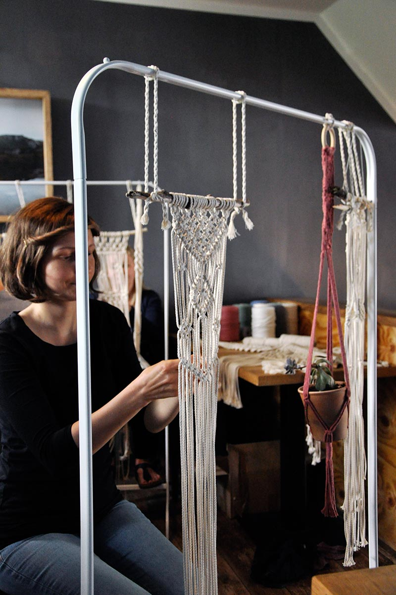 Makramee Wallhanging Workshop Rostoc