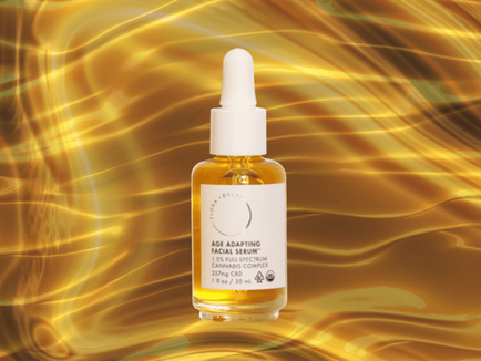 This CBD serum is the only face oil I've ever recommended.