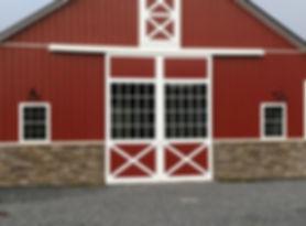 Aisle Entry Barn Doors