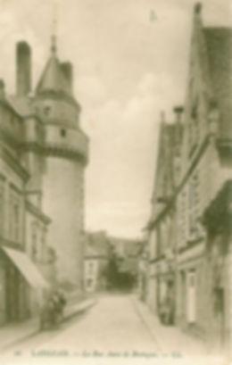 cartes-postales-Rue-Anne-de-Bretagne-LANGEAIS