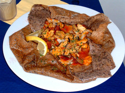 Galette fruits de mer provençale