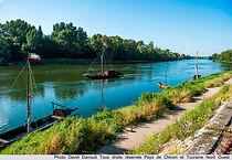 bateau sur Loire Touraine Loire valley