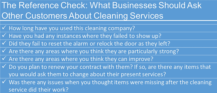 How to choose a cleaning service