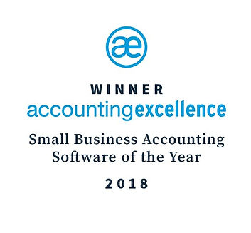 FreeAgent Accounting Excellence award winner 2018