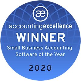 FreeAgent - accounting excellence winner 2020
