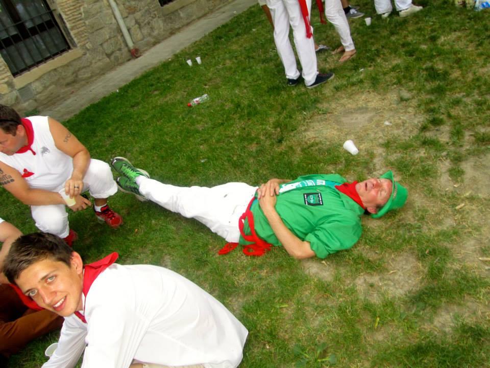 Tim Pinks in Fiesta Setback