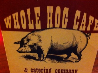 Dinner at Whole Hog Cafe, Cherry Hill, NJ