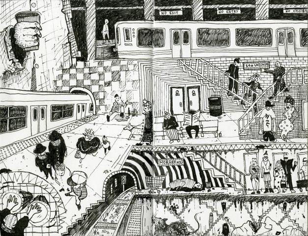 Зарисовки из метро