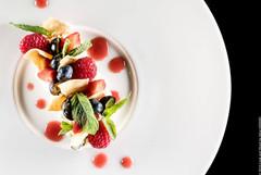 Crème mascarpone aux fruits rouges sorbe