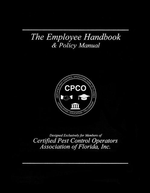 Employee Handbook & Policy Manual