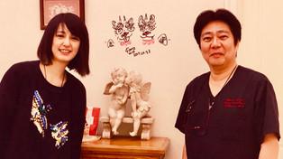 小松美羽さんが来院されました。