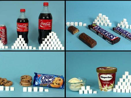 ¿Cuánto azúcar tomas al día?
