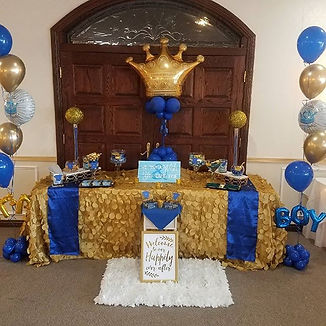 event decor for detroit birthday party