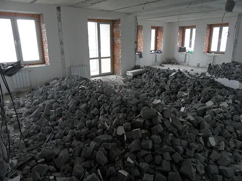Квартира на А. Нейбута. Снос стен