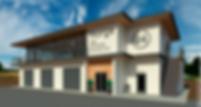 Проект автокомплекса, с мойкой, шиномонтажом и кафе