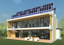 Проект Villa John Gal, пассивный дом, дом с панорамным остеклением, энергонезависимый дом, дом с солнечными батареями, дом панорамным остеклением, дом для сибири, инновационный дом, проект современного дома