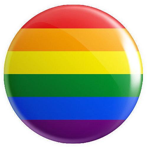 LGBTQ+ Rainbow Lapel Pin