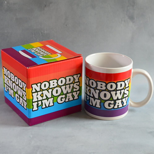 Mug - Nobody Knows Im Gay