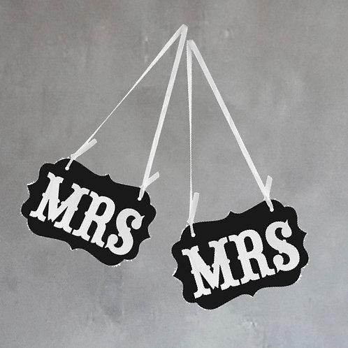 Mrs & Mrs Props - Large
