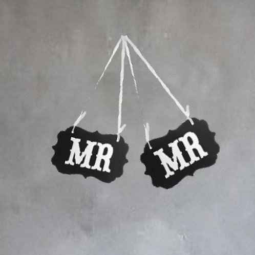 Mr & Mr Props - Large