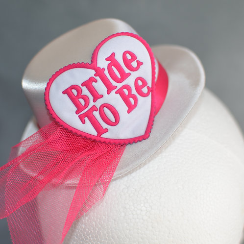Bride To Be Tiara with Hat
