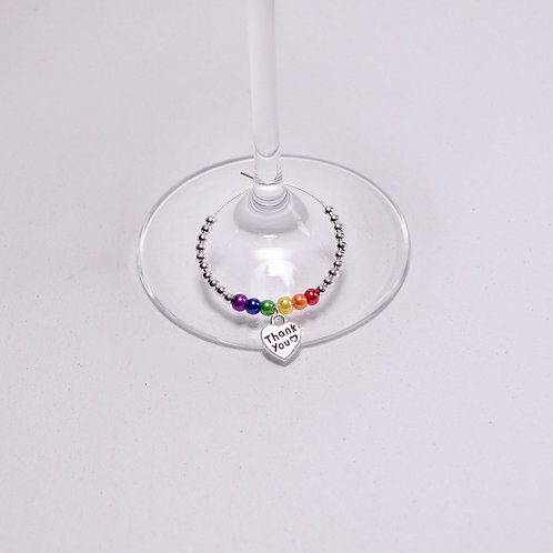 Wedding Glass Charm Favour