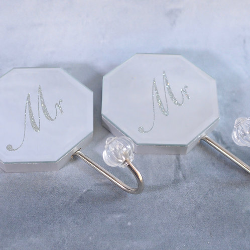 Mr & Mr Wall Hook Set