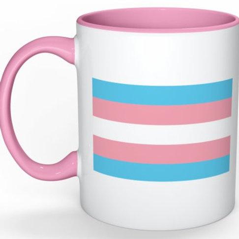 Mug - Trans Flag