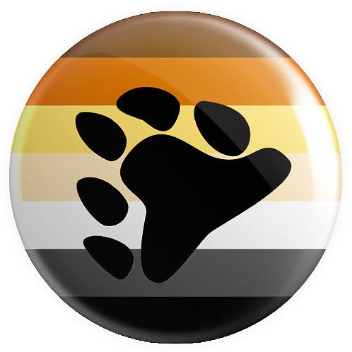LGBTQ+ Bear Lapel Pin