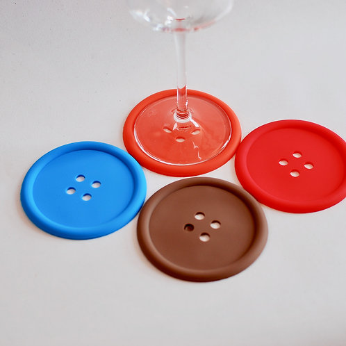 Buttons Coaster Set of 4