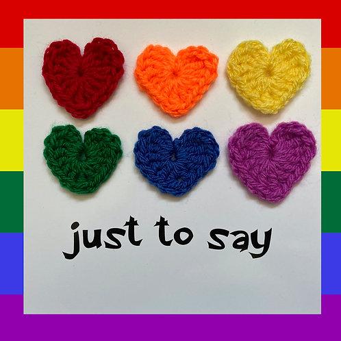 LGBTQ Plus Greeting Card