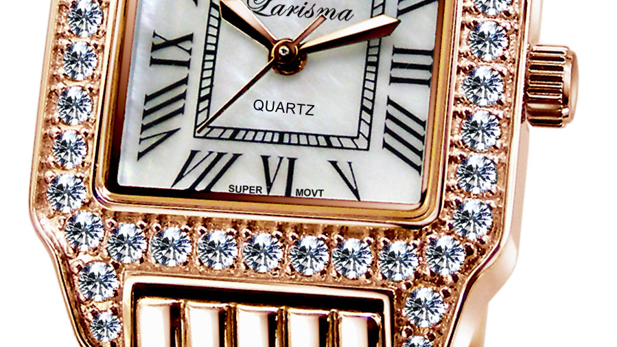 Larisma PVD Plated Rose Gold Watch 16304