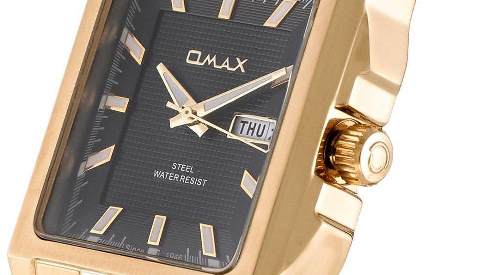 Omax Tank Mens Gold Watch 31SVG21I