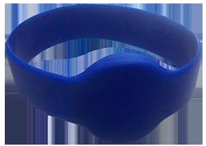 Pulseira RFID Silicone Azul
