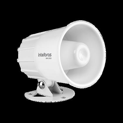 Sirene com fio 9 a 15 VDC/115 dB para sistema de segurança