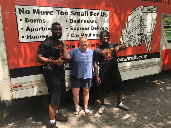 Movers in Hoover