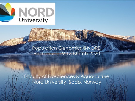 Population genomics@Nord