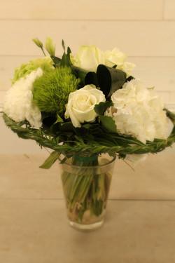 Bouquet tressé.