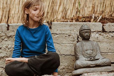 Buddha and friend