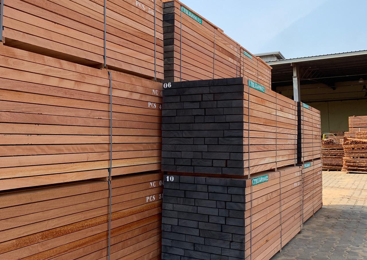 OKOUME sawn timber