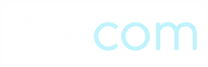 Dotcom - Primary Logo (White & Blue).png