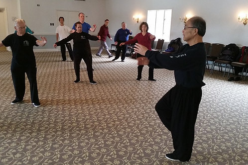 Advanced Tai Chi 10:45 - 12:15 am