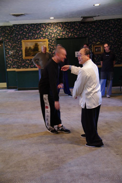 209 Master Ting Demonstrating Rotate the