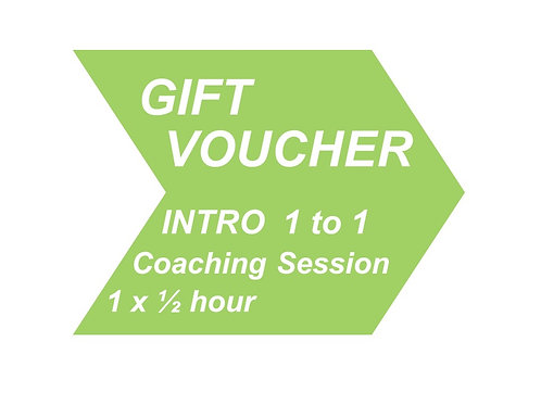 1 to 1 Coaching 'QUICK SINGLE' (Introductory offer)
