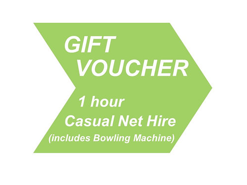 1 hour Casual Net Hire